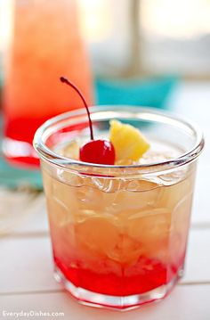 We love a good lemonade recipe, but we don't have the time or the patience to make it from scratch. Cut a few corners and add a little unique flavor while you're at it with our cherry pineapple lemonade recipe.