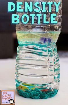 Density Bottles Activity Fun!