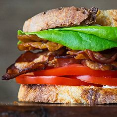 Not all BLTs are created equal. Some are better. Like the one pictured here. What makes this one superior? Learn the secrets of the perfectly constructed BLT right here.