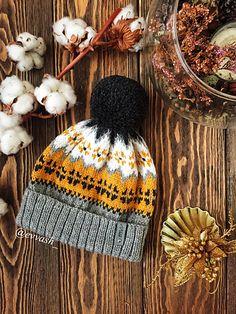 Winter solstice Hat pattern by Evgeniya Vashutkina : Ravelry: Winter solstice Hat pattern by Evgeniya Vashutkina Yarn Projects, Knitting Projects, Crochet Projects, Knitting Patterns, Crochet Patterns, Knit Crochet, Crochet Hats, Fair Isle Knitting, Knitting Accessories