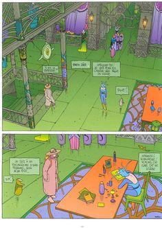 Le Neuvième Art - Voyons ce que dit le livre  Moebius