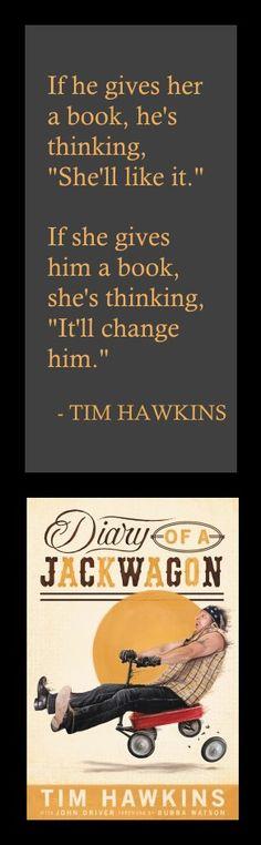 Love laughing with Tim Hawkins--clean humor!