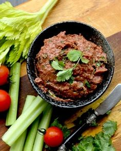Smoked Paprika Bean Pate by Weigh It Up - great with crudites, or spread on a pizza base!