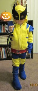 Kid flash costume i like this one because it is more simple to make homemade wolverine costume solutioingenieria Gallery