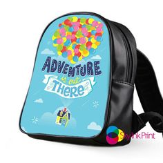 Adventure is out trere School Bag