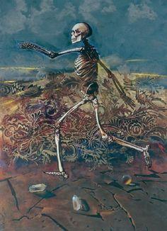 Night Thing • 2headedsnake: Helmut Starcke Daenerys Targaryen, Night, Artwork, Painting, Fictional Characters, Work Of Art, Auguste Rodin Artwork, Painting Art, Artworks