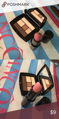Lancôme Lipstick and Eyeshadows 1 Lancôme lipstick and 1 Eyeshadows,new Makeup Eyeshadow
