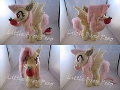 mlp Flutterbat plush by Little-Broy-Peep