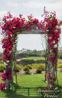 33 Floral Wedding Arches Decorating Ideas | Wedding Decor Ideas