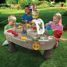 "Little Tikes Anchors Away Pirate Ship Water Table | Toys""R""Us Australia Mobile"