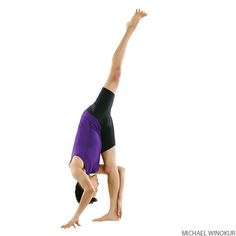 When you practice Standing Splits focus on the stretch in your quad and hamstring, not how high you can lift your leg.