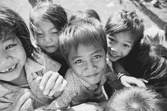 Cambodian children.