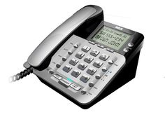RCA-1223-1BSGA 2-Line Corded Caller ID Speakerphone #RCA