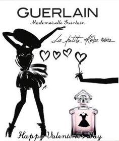 Happy Valentine's Day with La Petite Robe Noire de Guerlain #mademoiselleguerlain #lprn #guerlain #lapetiterobenoire #le68