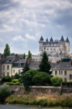 Château de Saumur, Maine-et-Loire, Pays de la Loire, France