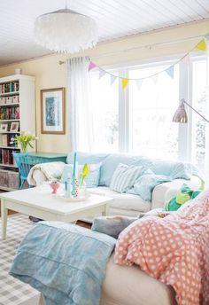 Huone rentoutumiseen | Unelmien Talo&Koti Kuva: Hanne Maneus