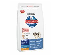 Hills Science Plan Mature Adult Mini Breed Chicken - 1 KG Buy Online Dog Food http://www.dogspot.in/treats-food/