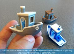 New Dual Extrusion / Multi-Color #3DBenchy Announced for Benchmarking Your 3D Printer http://3dprint.com/82702/3dbenchy/