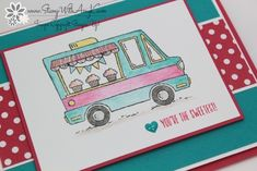 Stampin' Up! Hey, Chick and Tasty Trucks for the Control Freaks Blog Hop