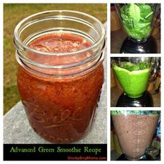 Yes, this is a GREEN smoothie and it is RED :-)  It tastes amazing and is so good for you!