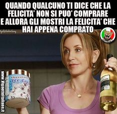 La felicità acquistata  (www.VignetteItaliane.it)