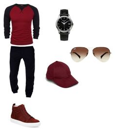 """Cool style"" by fariha-mohammadi on Polyvore featuring Del Toro, Patek Philippe, ASOS, Ray-Ban, men's fashion and menswear"