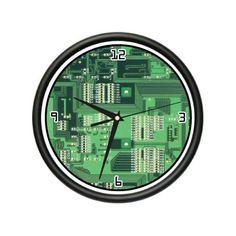 COMPUTER CIRCUIT BOARD Wall Clock   Criação de Sites   Construção de Sites   Web Design   SEO   Portugal   Algarve    http://www.novaimagem.co.pt