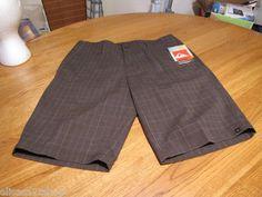 Men's Quiksilver shorts casual walk static 21 DP007 33 NEW plaid charcoal surf