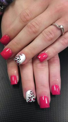 Hate the design. Love the shape of the nails.