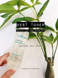 best toner for acne prone oily skin isntree bha fa safe Acne Skin, Acne Prone Skin, Best Toner For Acne, Green Tea Toner, Skin Nutrition, Skin Toner, Dull Skin, Beauty Review