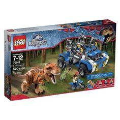 LEGO Jurassic World T. Rex Tracker 75918 Building Kit Capture the T. rex with the LEGO Jurassic World T. rex Tracker with trap shooter and dyno cage, plus a Lego Jurassic World, Jurassic Park, Legos, Dinosaur Toys For Boys, Power Rangers Dino, Pokemon, Lego Toys, Lego Lego, Buy Lego