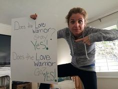 Does a Love Warrior