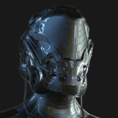 ArtStation - helmet concept, by Chriss Pallut