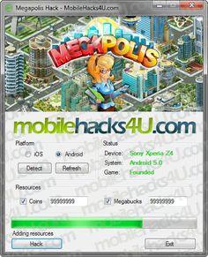 Megapolis Hack Unlimited Megabucks and Coins