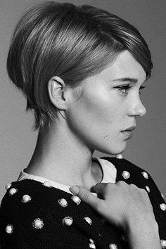 Cortes de pelo pixie 2016: El corto también es femenino - Corte pixie elegante