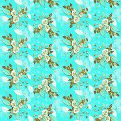 Farmhouse Roses Jenny fabric by art_is_us on Spoonflower - custom fabric