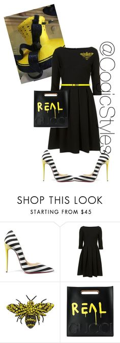 Official Night!!! by cogic-fashion ❤ liked on Polyvore featuring BEA, Christian Louboutin, Gucci, Yves Saint Laurent, COGIC and bishopnight