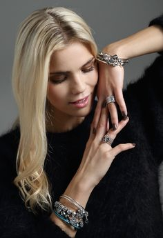 Stack your bracelets and rings and create a different look #PANDORAring