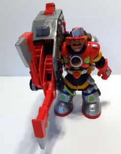Firefighter-Rescue-Heroes-PowerMax-Billy-Blazes-Fisher-Price-3-Pcs-See-Video