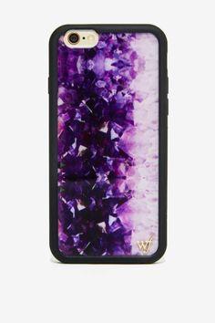 Wildflower Amethyst iPhone 6 Case