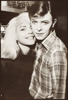 blondie and david bowie