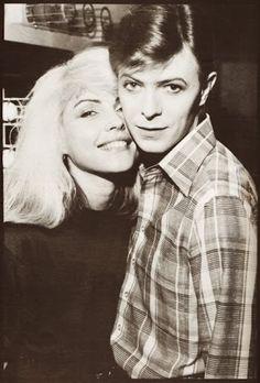 Blondie and David Bowie