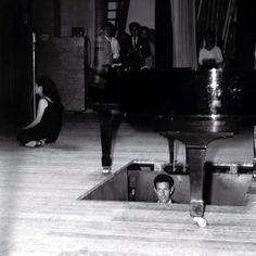 "shihlun: "" John Cage performance in Japan, 1962. """