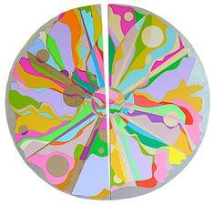 "AI-WEN WU KRATZ, ""Transformation,"" Acrylic on Canvas, 31.5"" x 32.75"""
