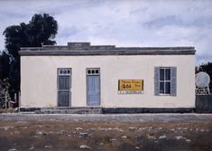 Three Trees, van Wyksdorp, 2001 Unique Paintings, Realistic Paintings, Port Elizabeth, General Store, Small Towns, Trees, Van, In This Moment, Mansions