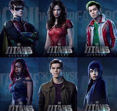 Heroes Dc Comics, Math Comics, Batwoman, Nightwing, Titans Tv Series, Teen Titans Love, Robin Dc, Dc Super Hero Girls, Dc Memes