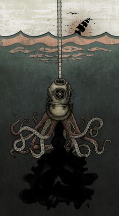 Octopus Art Print by Jared Tuttle   Society6