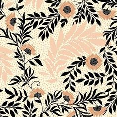 Print by Suzanne Washington Textile Prints, Textile Patterns, Textiles, Print Patterns, Art Prints, Lino Prints, Block Prints, Motif Floral, Floral Prints