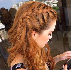 French side braid*