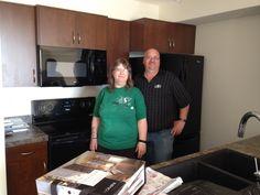 Congrats Glenda & Dan! Building A House, Dan, Kitchen Cabinets, Happy, Home Decor, Restaining Kitchen Cabinets, Homemade Home Decor, Kitchen Base Cabinets, Interior Design